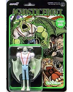 SUPER 7 REACTION FIGURES 3.75インチアクションフィギュア AGNOSTIC FRONT ELIMINATOR [GLOW IN THE DARK]