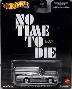 MATTEL HOT WHEELS 1/64スケール 2021 REPLICA ENTERTAINMENT NO TIME TO DIE ASTON MARTIN 1963 DB5 ブリスターワレ特価
