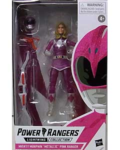 HASBRO POWER RANGERS LIGHTNING COLLECTION HASBRO PULSE限定 6インチアクションフィギュア MIGHTY MORPHIN METALLIC ARMOR PINK RANGER