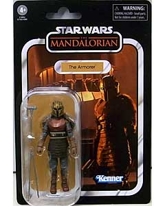 HASBRO STAR WARS 3.75インチアクションフィギュア THE VINTAGE COLLECTION 2021 THE ARMORER [THE MANDALORIAN] VC179
