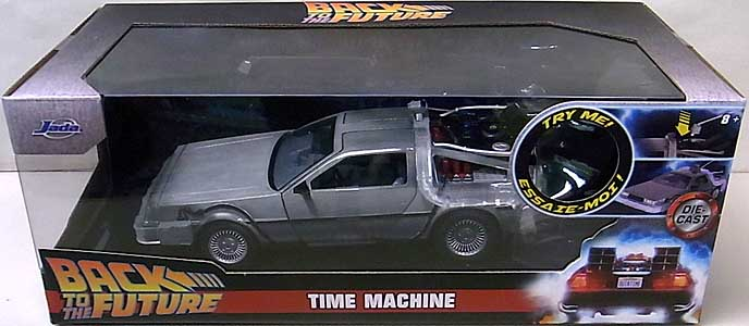 JADA TOYS METALS DIE CAST 1/24スケール BACK TO THE FUTURE TIME MACHINE