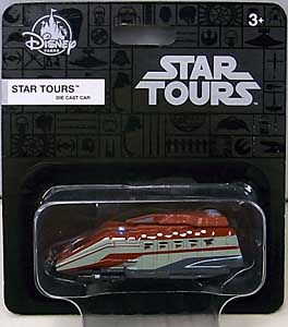 STAR WARS USAディズニーテーマパーク限定 1/64スケール ダイキャストビークル STARSPEEDER 1000