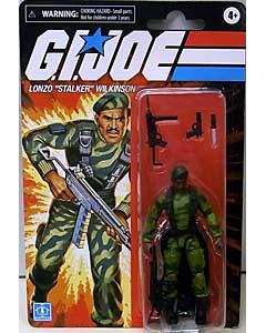 HASBRO G.I.JOE WALMART限定 3.75インチアクションフィギュア RETRO COLLECTION LONZO STALKER WILKINSON