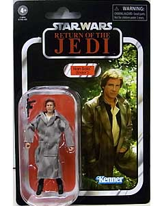HASBRO STAR WARS 3.75インチアクションフィギュア THE VINTAGE COLLECTION 2021 HAN SOLO (ENDOR) [RETURN OF THE JEDI] VC62