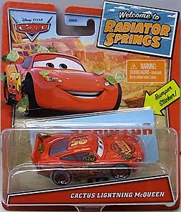 MATTEL CARS 2021 WELCOME TO RADIATOR SPRINGS シングル CACTUS LIGHTNING McQUEEN
