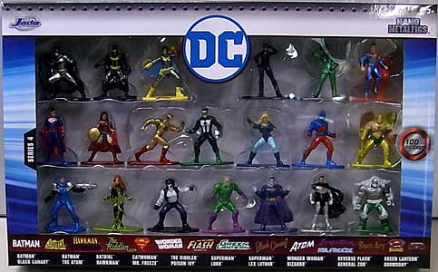 JADA TOYS DC NANO METALFIGS WAVE 4 20PACK パッケージ傷み特価