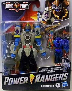 HASBRO POWER RANGERS DINO FURY 6インチアクションフィギュア BOOMTOWER