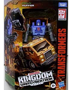 HASBRO TRANSFORMERS KINGDOM DELUXE CLASS HUFFER