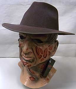 TRICK OR TREAT STUDIOS ラバーマスク A NIGHTMARE ON ELM STREET FREDDY KRUEGER WITH FEDORA HAT