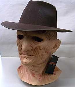 TRICK OR TREAT STUDIOS ラバーマスク A NIGHTMARE ON ELM STREET 2: FREDDY'S REVENGE FREDDY KRUEGER WITH FEDORA HAT