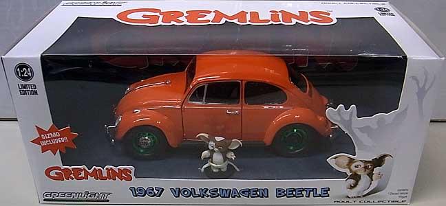 GREENLIGHT 1/24スケール GREMLINS 1967 VOLKSWAGEN BEETLE [GREEN WHEELS]
