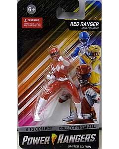 PREXIO POWER RANGERS MINI FIGURINE RED RANGER