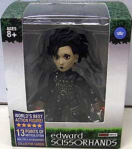 THE LOYAL SUBJECTS ACTION VINYLS EDWARD SCISSORHANDS INVENTOR EDITION