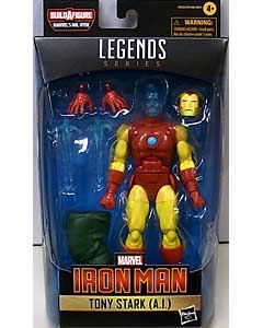 HASBRO MARVEL LEGENDS 2021 SHANG-CHI AND THE LEGEND OF THE TEN RINGS WAVE 1.0 [MR. HYDE SERIES] TONY STARK (A.I.)