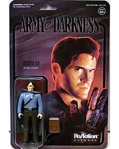 SUPER 7 REACTION FIGURES 3.75インチアクションフィギュア ARMY OF DARKNESS WAVE 2 MEDIEVAL ASH [MIDNIGHT]