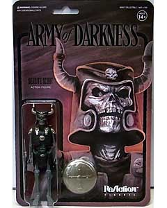 SUPER 7 REACTION FIGURES 3.75インチアクションフィギュア ARMY OF DARKNESS WAVE 2 DEADITE SCOUT [MIDNIGHT]