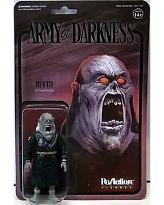 SUPER 7 REACTION FIGURES 3.75インチアクションフィギュア ARMY OF DARKNESS WAVE 2 PIT WITCH [MIDNIGHT]