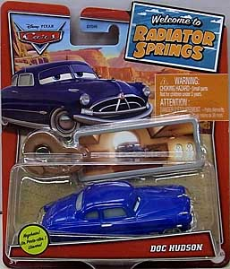MATTEL CARS 2021 WELCOME TO RADIATOR SPRINGS シングル DOC HUDSON WITH KEY CHAIN