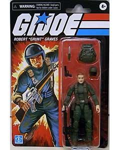HASBRO G.I.JOE WALMART限定 3.75インチアクションフィギュア RETRO COLLECTION ROBERT GRUNT GRAVES
