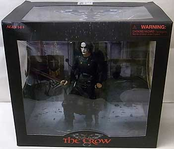 SDCC 2021 DIAMOND SELECT THE CROW DELUXE ACTION FIGURE パッケージ傷み特価