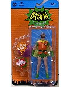 McFARLANE TOYS DC RETRO BATMAN CLASSIC TV SERIES 6インチアクションフィギュア ROBIN ブリスター傷み特価