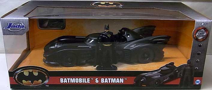 JADA TOYS METALS DIE CAST 1/24スケール BATMAN 1989 BATMOBILE & BATMAN