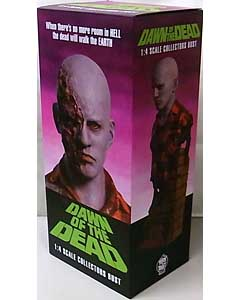 TRICK OR TREAT STUDIOS 1/4スケールバストスタチュー DAWN OF THE DEAD AIRPORT ZOMBIE
